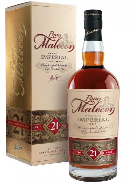 Malecon Reserva Imperial 21 Anos Rum 0,7 L