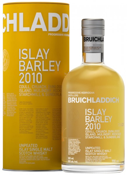 Bruichladdich Islay Barley Unpeated Islay Single Malt Scotch Whisky 0,7 L