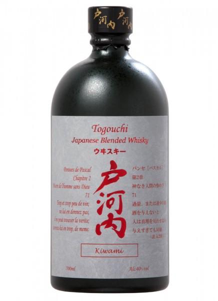 Togouchi Kiwami Japanese Blended Whisky 0,7 L