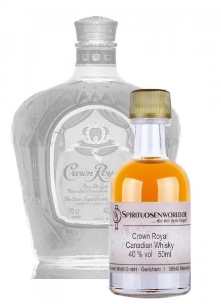 Crown Royal Whisky Tastingminiatur 0,05 L