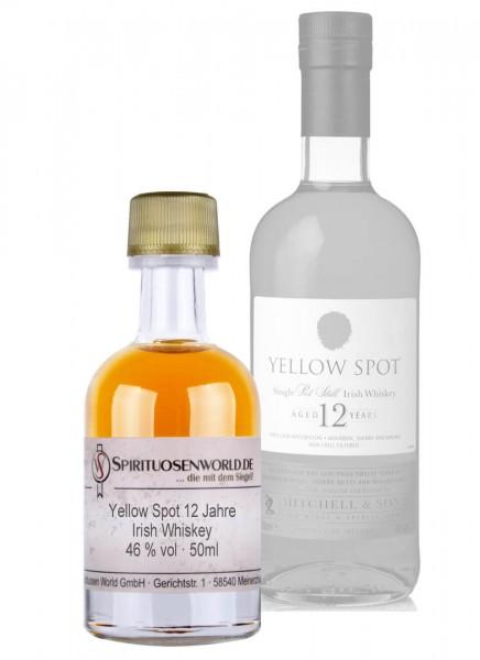 Yellow Spot 12 Jahre Irish Whiskey Tastingminiatur 0,05 L
