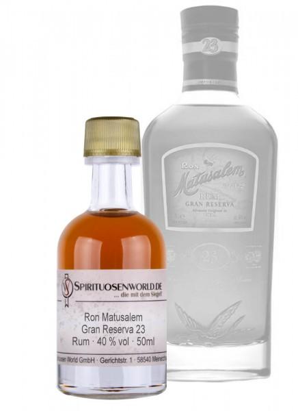 Ron Matusalem Gran Reserva 23 Jahre Rum Tastingminiatur 0,05 L