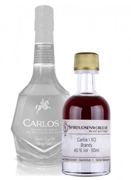 Carlos I XO Brandy Tastingminiatur 0,05 L