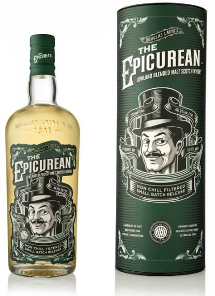 The Epicurean Lowland Blended Malt Whisky 0,7 L