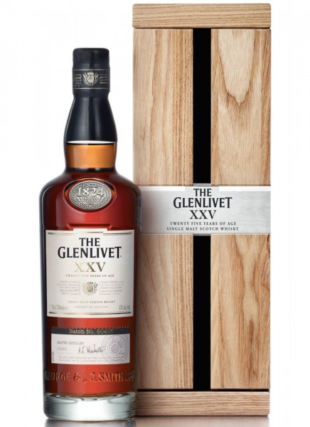 The Glenlivet 25 Years Single Malt Scotch Whisky 0,7 L