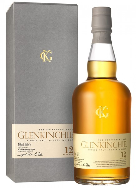 Glenkinchie 12 Years Whisky 0,7 L