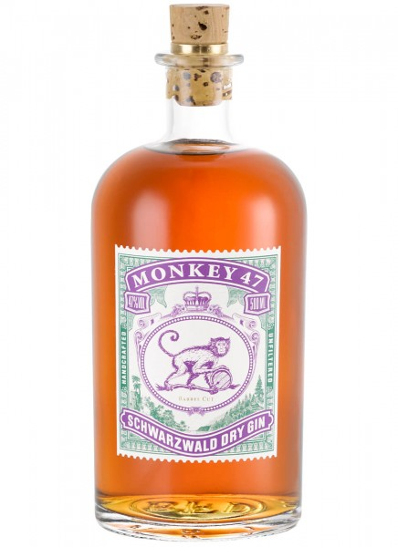 Monkey 47 Dry Gin Barrel Cut 0,5 L