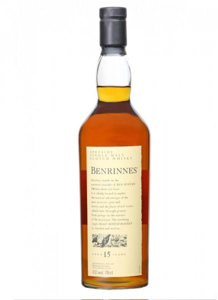 Benrinnes 15 Jahre Flora & Fauna Whisky 0,7 L