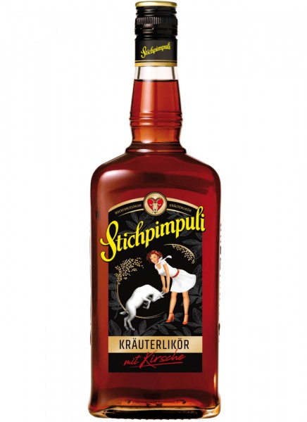 Stichpimpuli Bockforcelorum Kräuterlikör 0,7 L