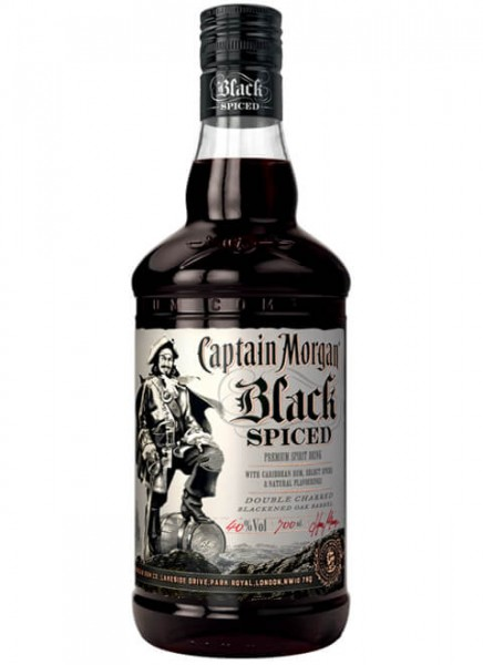 Captain Morgan Black Spiced 0,7 L