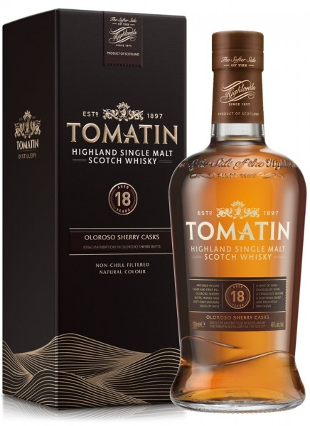 Tomatin 18 Years Highland Single Malt Scotch Whisky 0,7 L