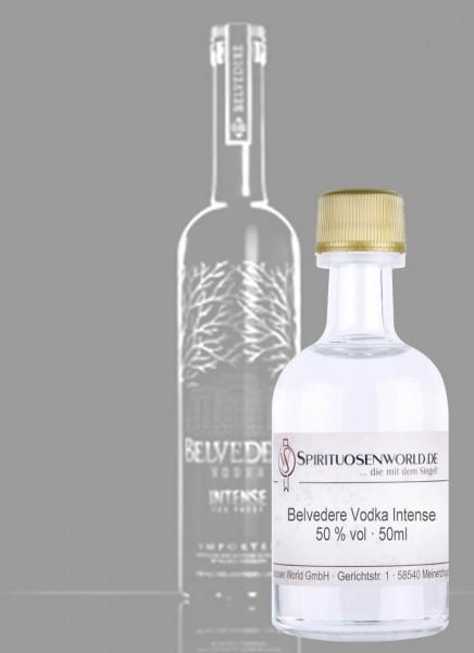 Belvedere Vodka Intense Tastingminiatur 0,05 L