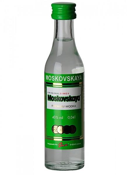 Moskovskaya Wodka Miniatur 0,04 L