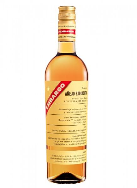 Embargo Anejo Exquisito Rum 0,7 L