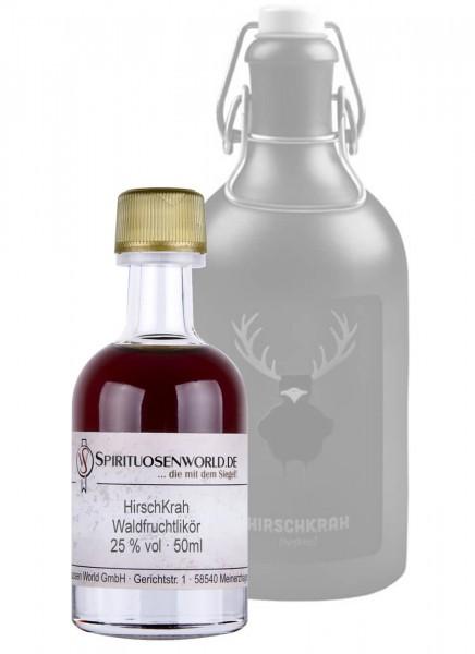 HirschKrah Waldfruchtlikör Tastingminiatur 0,05 L