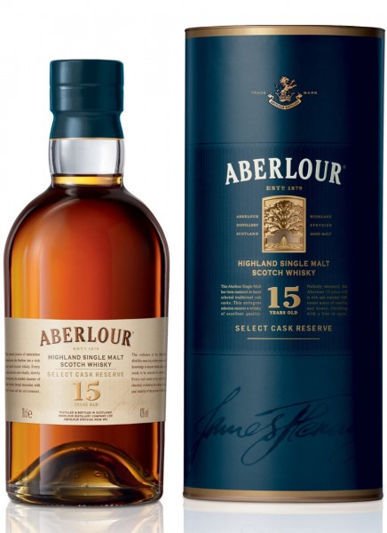 Aberlour 15 Years Select Cask Reserve Single Malt Scotch Whisky 0,7 L
