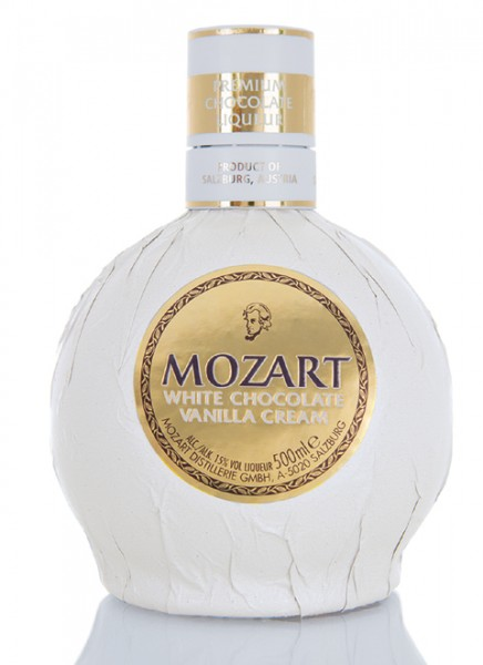 Mozart White Chocolate Cream Likör 0,5 L