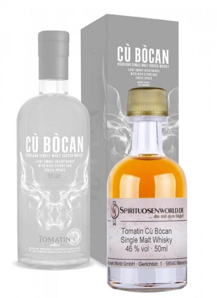 Tomatin Cu Bocan Whisky Tastingminiatur 0,05 L