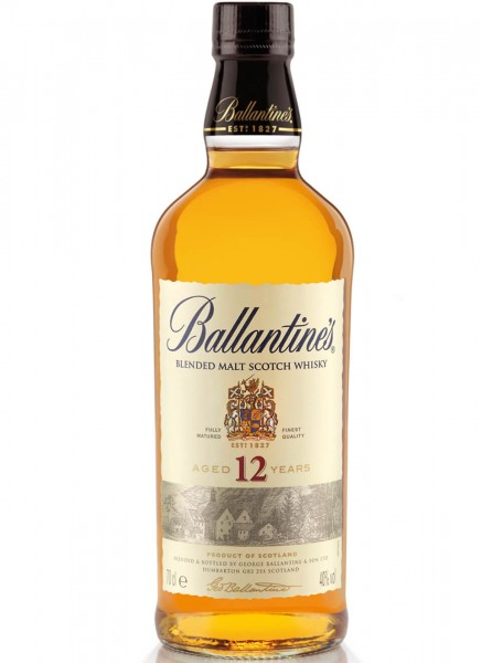 Ballantines 12 Years Blended Malt Scotch Whisky 0,7 L