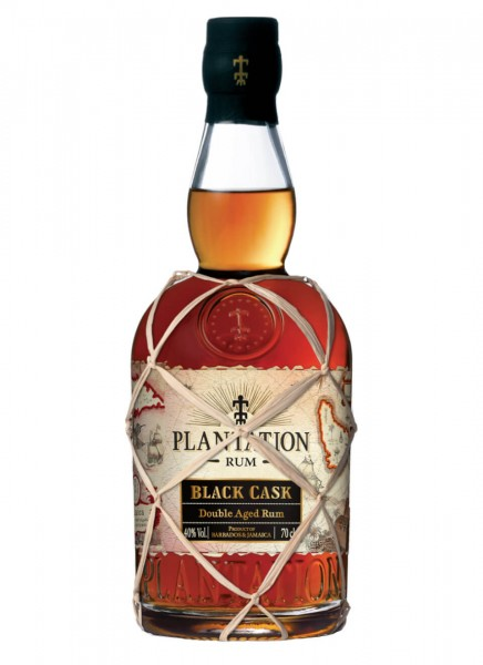 Plantation Black Cask Barbados & Peru Rum 0,7 L