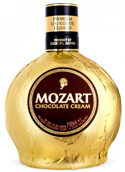 Mozart Gold Chocolate Cream Likör 0,7 L