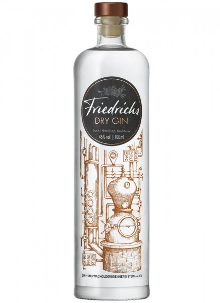 Friedrichs Dry Gin 0,7 L
