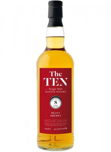 The Ten 8 Heavy Sherry Whisky 2006 0,7 L
