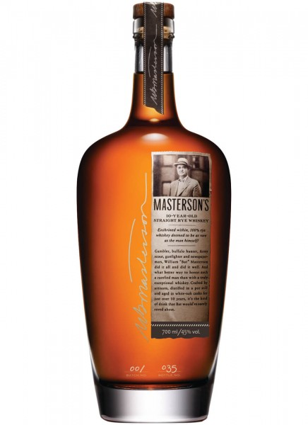 Mastersons 10 Jahre Straight Rye Whisky 0,7 L