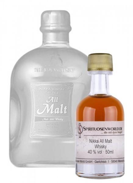 Nikka All Malt Whisky Tastingminiatur 0,05 L