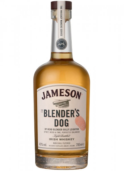 Jameson Blender`s Dog Irish Whiskey 0,7 L