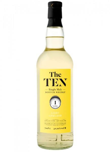 The Ten 1 Light Lowland Whisky 2004 0,7 L