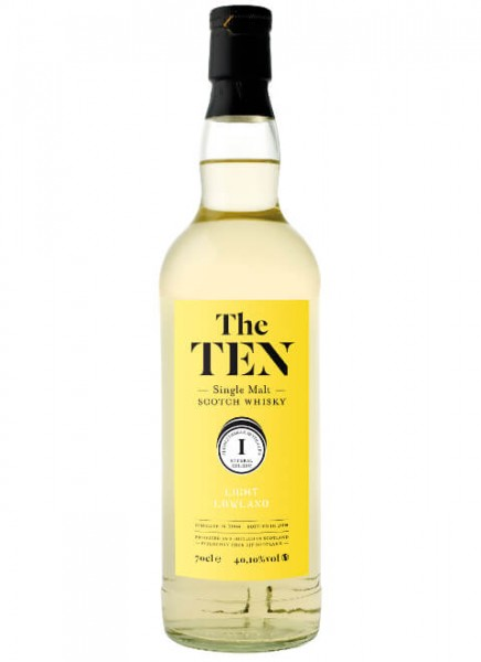 The Ten 1 Light Lowland Whisky 2004 0,7 L