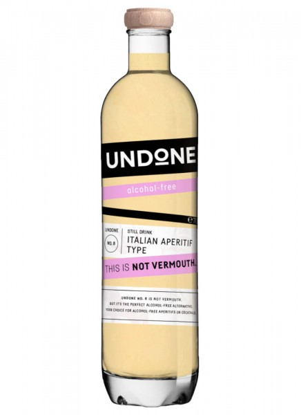Undone No. 8 Italian Aperitif Type This is NOT Vermouth! 0,7 L