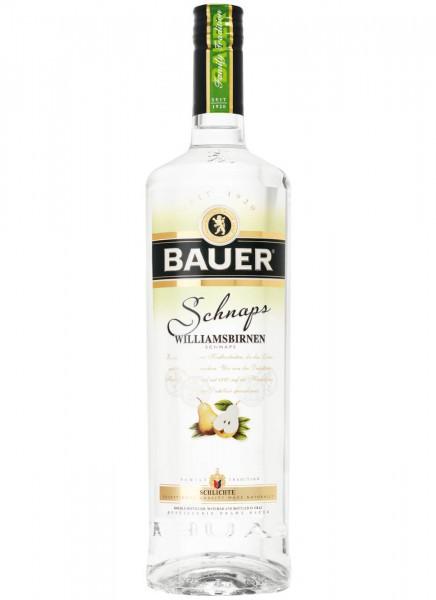Bauer Williamsbirnen Schnaps 0,7 L