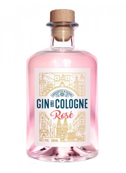 Gin de Cologne Rosé 0,5 L