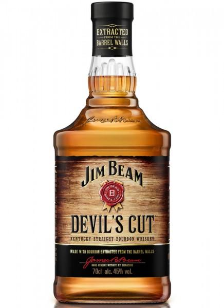 Jim Beam Devils Cut Kentucky Straight Bourbon Whiskey 0,7 L