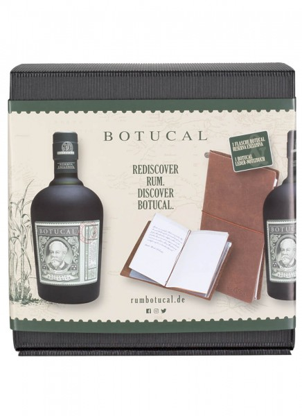 Botucal Reserva Exclusiva + hochwertiges Leder-Notizbuch 0,7 L