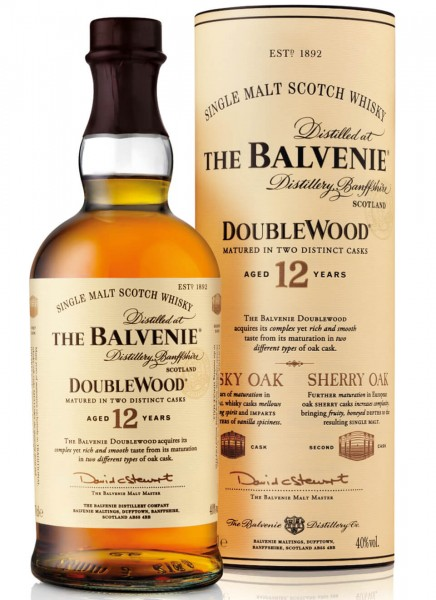 Balvenie 12 Years Double Wood Single Malt Scotch Whisky 0,7 L