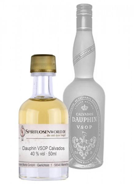 Dauphin VSOP Calvados Tastingminiatur 0,05 L