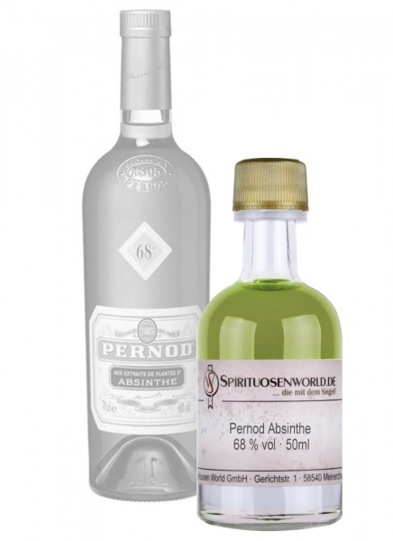 Pernod Absinthe Tastingminiatur 0,05 L
