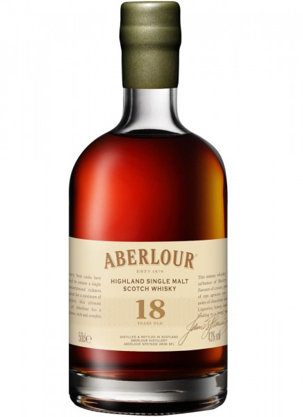 Aberlour 18 Years Single Malt Scotch Whisky 0,5 L