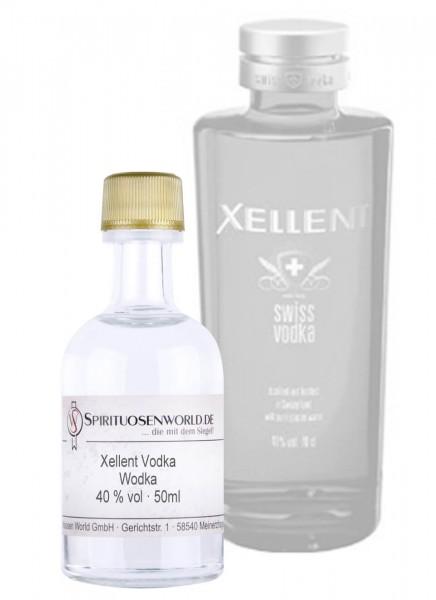 Xellent Vodka Tastingminiatur 0,05 L