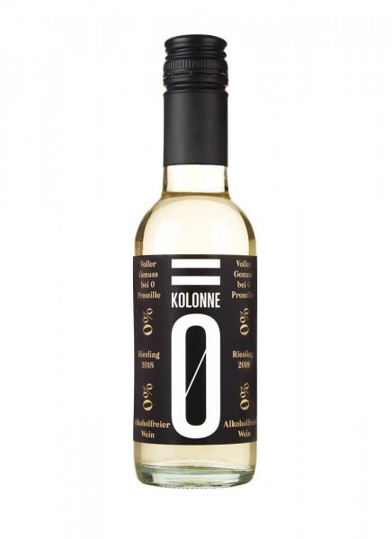 Kolonne Null Riesling Alkoholfrei Kleinflasche 0,25 L