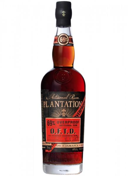 Plantation Rum O.F.T.D. Overproof 0,7 L