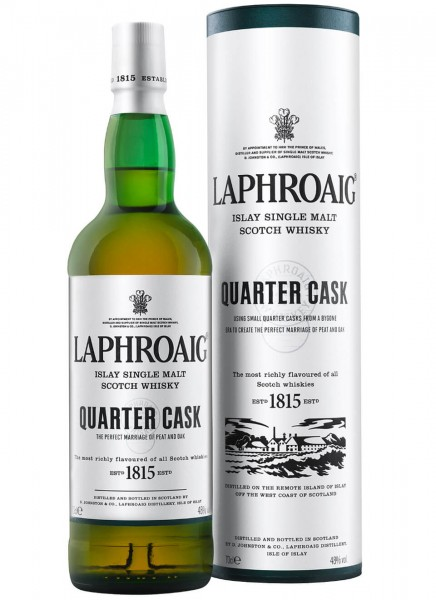 Laphroaig Quarter Cask Islay Single Malt Scotch Whisky 0,7 L