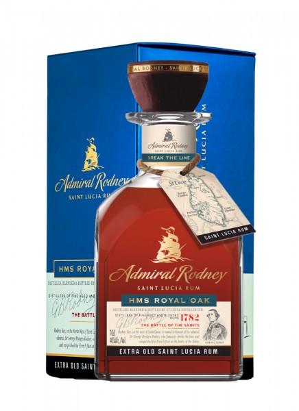 Admiral Rodney HMS Royal Oak St. Lucia Rum 0,7 L
