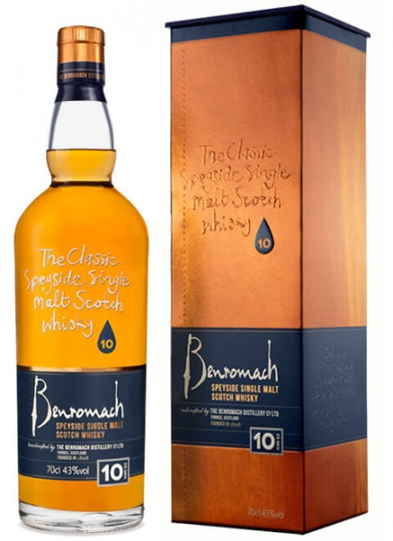Benromach 10 Years Whisky 0,7 L