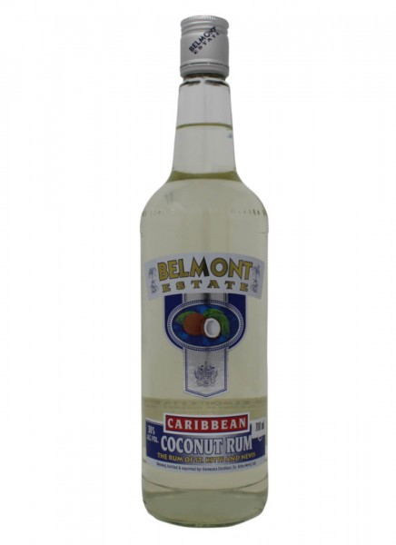 Belmont Estate Caribbean White Coconut Rum 0,7 L