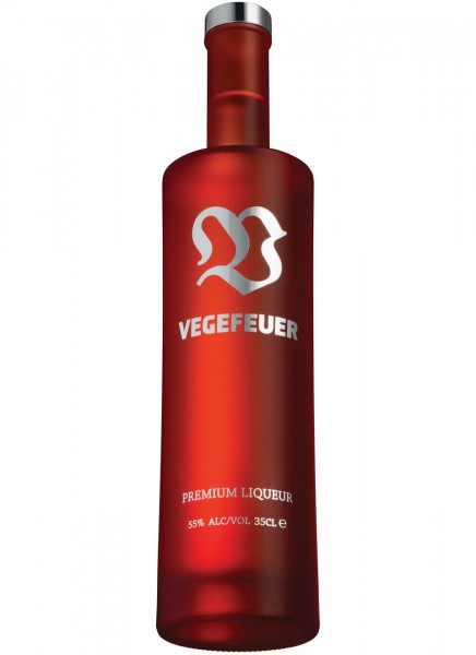 Vegefeuer Kräuterlikör Kleinflasche 0,35 L