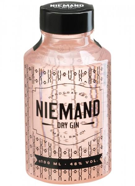 Niemand Dry Gin Kleinflasche 0,1 L